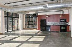 10 Right Ways to Design Floor to Ceiling Windows - Exposed Concrete, Polished Concrete, Concrete Floors, Toronto Lofts, Lofts For Rent, Bedroom Corner, Rental Listings, Rooftop Terrace, Floor To Ceiling Windows