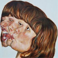 Retratos distorsionados por Carl Beazley1
