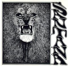 American Hippie Classic Rock Music ~ Album Cover Art . . Santana http://www.guitarandmusicinstitute.com