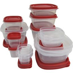 Rubbermaid Easy Find Lids 24-Piece Set $12.97 --- idk if i'd need this much tupperware...