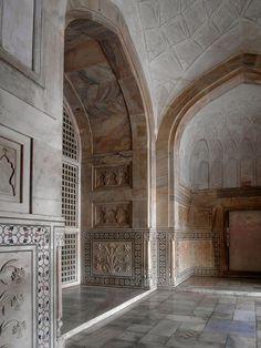 Taj Mahal Interior - Agra, India