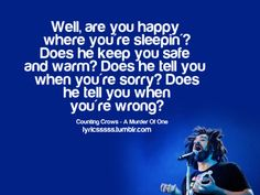 """Counting Crows - """"Murder of One"""""""