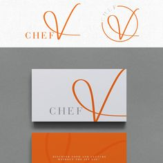 Visually inaugurate a high quality, sophisticated with an international twist culinary and lifestyle brand for Chef V by Cit