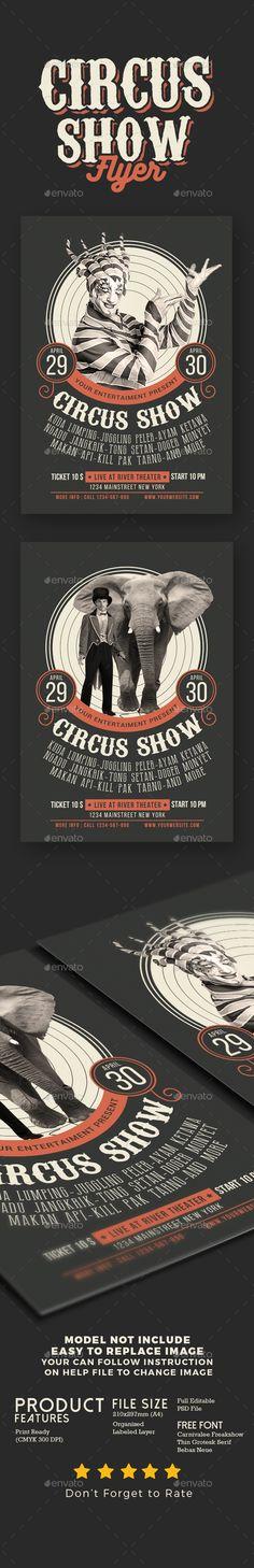 Circus Show Flyer