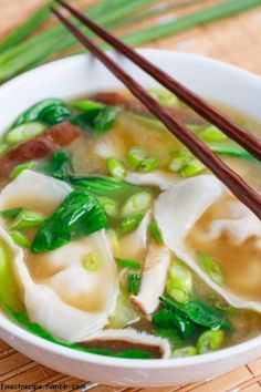 Shrimp Wonton Soup Read the complete Recipe at our blog, Happy Cooking ...