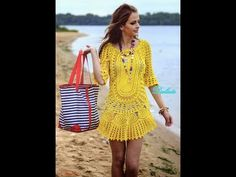 Saída de praia de crochê com Viviane Santos parte 1 - YouTube