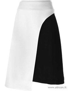blocco di colore Tsumori Chisato gonna asimmetrica - 11212884 - Gonne