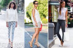 10 formas de combinar una blusa blanca | Moda