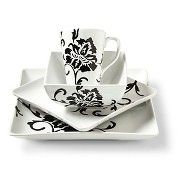 Coventry Floral Scroll Dinnerware Set