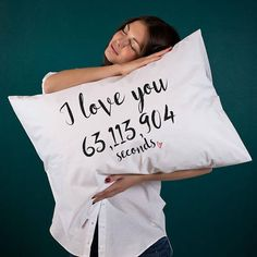 Custom boyfriend gift Personalized gift for her him Wife gift for husband Romantic pillow Anniversary gift Wedding gift Custom pillowcase (1 piece) Sweet and romantic personalized gift idea for your special someone! Spread the love and let them know how much you care every hour,