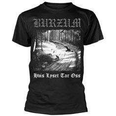 Tricou Burzum: Hvis Lyset Tar Oss Metalhead, Suits, Mens Tops, T Shirt, Fashion, T Shirts, Supreme T Shirt, Moda, Tee