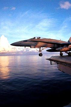 F-18 launch!
