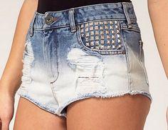 De viejos jeans a short de diseño!