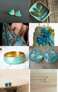 turquoise dreams by Svitlana Marusyk on Etsy--Pinned with TreasuryPin.com