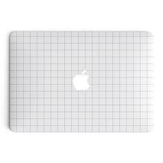 Grid Line MacBook Skin - White                                                                                                                                                      More