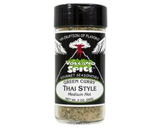 VOLCANO SPICE COMPANY - GREEN CURRY THAI STYLE - 2oz