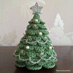 Crochet Diy Christmas Tree Crochet Free Pattern - If you are on the hunt for a cute Christmas Crochet Tree Pattern, we've got you covered with loads of ideas and the best free patterns. Crochet Tree, Christmas Tree Pattern, Crochet Diy, Christmas Crochet Patterns, Crochet Christmas Ornaments, Holiday Crochet, Noel Christmas, Crochet Crafts, Christmas Decorations