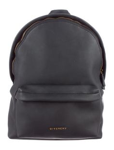 Black Givenchy Rubber Effect Backpack #TheFineDetails