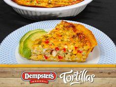 La Quiche de ma�s Jalapeno est une autre fa�on int�ressante d'utiliser vos tortillas au maximum. @ Dempsters # WrapItUp