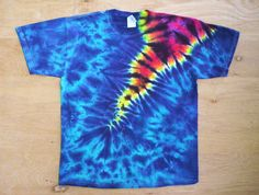 Bit 'O Color Tie Dye Size Large by tiedyetodd on Etsy, $25.00