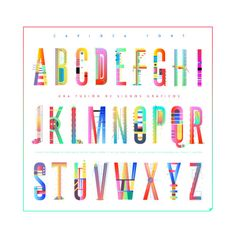 Free front CARIOCA by Yai Salinas & Tano Veron  #free #font #typography #alphabet