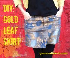 leaf skirt finish generation-t.com