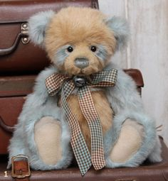 This Dilly by Charlie bears and her partner is Dally a gorgeous brightly coloured  little girl.