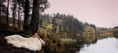Swan Lake Inspired Photoshoot | Enzoani #weddingdress #fall #eskuvoiruha