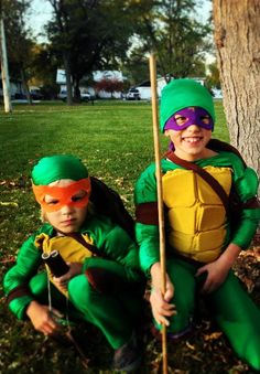LEONARDO NINJA TURTLE NEW MOVIE CHILD COSTUME Halloween Cosplay Fancy Dress B10