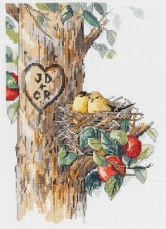 cross stitch birds of a feather - Google Search