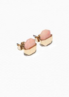 & Other Stories | Stone Stud Earrings