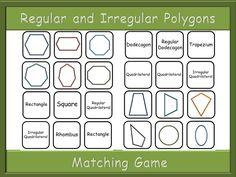 Polygons Matching game