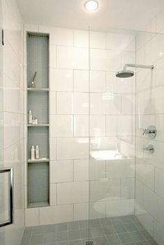 Mampara Fija De Baño Vidrio Templado De Mm Sobre Perfilería De - Kwik fit bathroom remodel