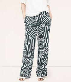 Ann Taylor Loft Wide Leg Pants Serpentinite Grey