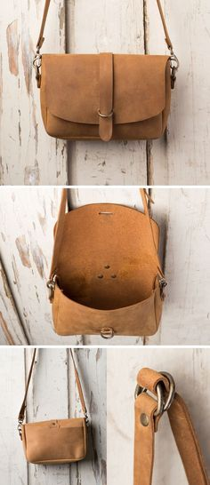 The Love 41 Crossbody Koroha in Tobacco Leather Purses, Leather Crossbody, Leather Handbags, Crossbody Bags, Leather Gifts, Leather Bags Handmade, Cute Purses, Leather Projects, Leather Design