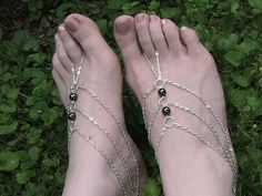 Barefoot Sandals Barefoot Sandel Foot by FULLMOONJEWELLERY on Etsy