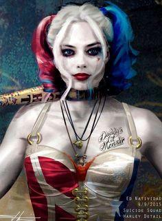 Harley Quinn Drawing, Harley Quinn Cosplay, Joker And Harley Quinn, Injustice 2, Harely Quinn, Margot Robbie Harley Quinn, Female Villains, Daddys Lil Monster, Dc Cosplay