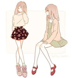 Drawing anime outfits manga girl 58 ideas for 2019 Manga Girl, Anime Girls, Anime Girl Dress, Fashion Drawings, Fashion Art, Fashion Clothes, Trendy Fashion, Girl Fashion, Fashion Beauty