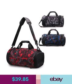75a298bd3535 Unisex Accessories Women Men Waterproof Travel Luggage Shoulder Bag Handbag  Outdoor Sports Gym Bag  ebay  Fashion