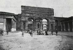 Porta Maggiore vista da dentro le mura Anno: 1905 ca.