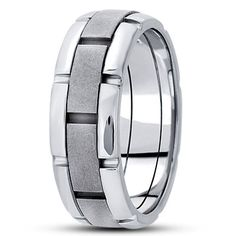 FANCY CARVED WEDDING BAND  Available as a special order.