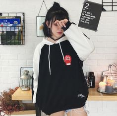 Buy MAVE Couple Matching Embroidered Long-Sleeve Hoodie | YesStyle