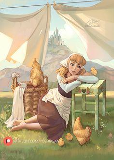 Disney Princess Drawings, Disney Princess Art, Disney Fan Art, Disney Drawings, Disney Princesses, Princess Zelda, Arte Disney, Disney Magic, Princesa Ariel Disney