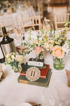 A Bridal Flower Crown For A Pretty Peach, Paper Crane, DIY Wedding | Love My Dress® UK Wedding Blog