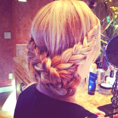 Did my mothers hair for a wedding!