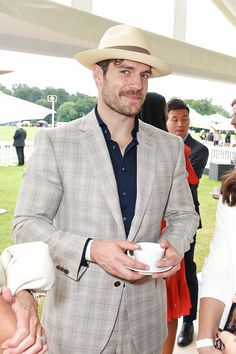 Henry Cavill Jaeger-LeCoultre Gold Cup Polo Final, England | July 23, 2017