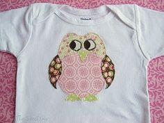 Cute (free) applique pattern