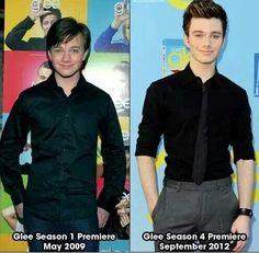 The evolution of Chris Colfer