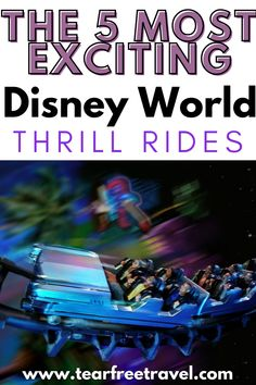 Disney World might not be known for thrill rides, but they do have some exciting attractions! Read this article to know more about Disney World's 5 most exciting thrill rides. Disney World Attractions, Disney Hotels, Disney Vacations, Packing List For Disney, Disney Cruise Tips, Fastest Roller Coaster, Hollywood Tower Hotel, Disney Rides, Tower Of Terror