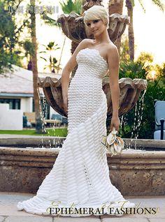 One of a kind custom made balloon dresses. Model: Briana Robertson Photographer: Jesse Paulk